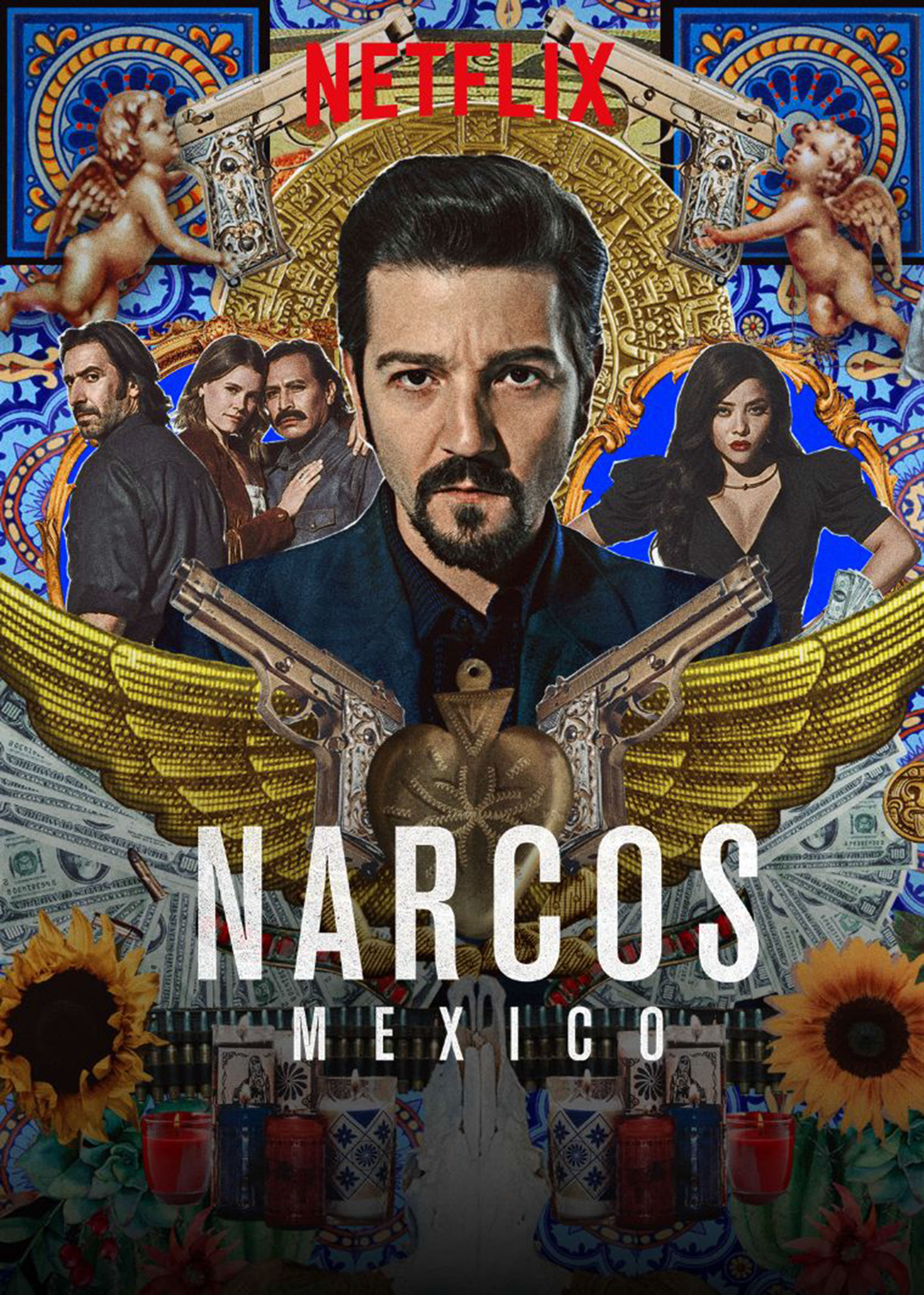 Narcos: Mexico (2018) S1 Hindi Dubbed Complete NF Series 720p HDRip 4.1GB Download