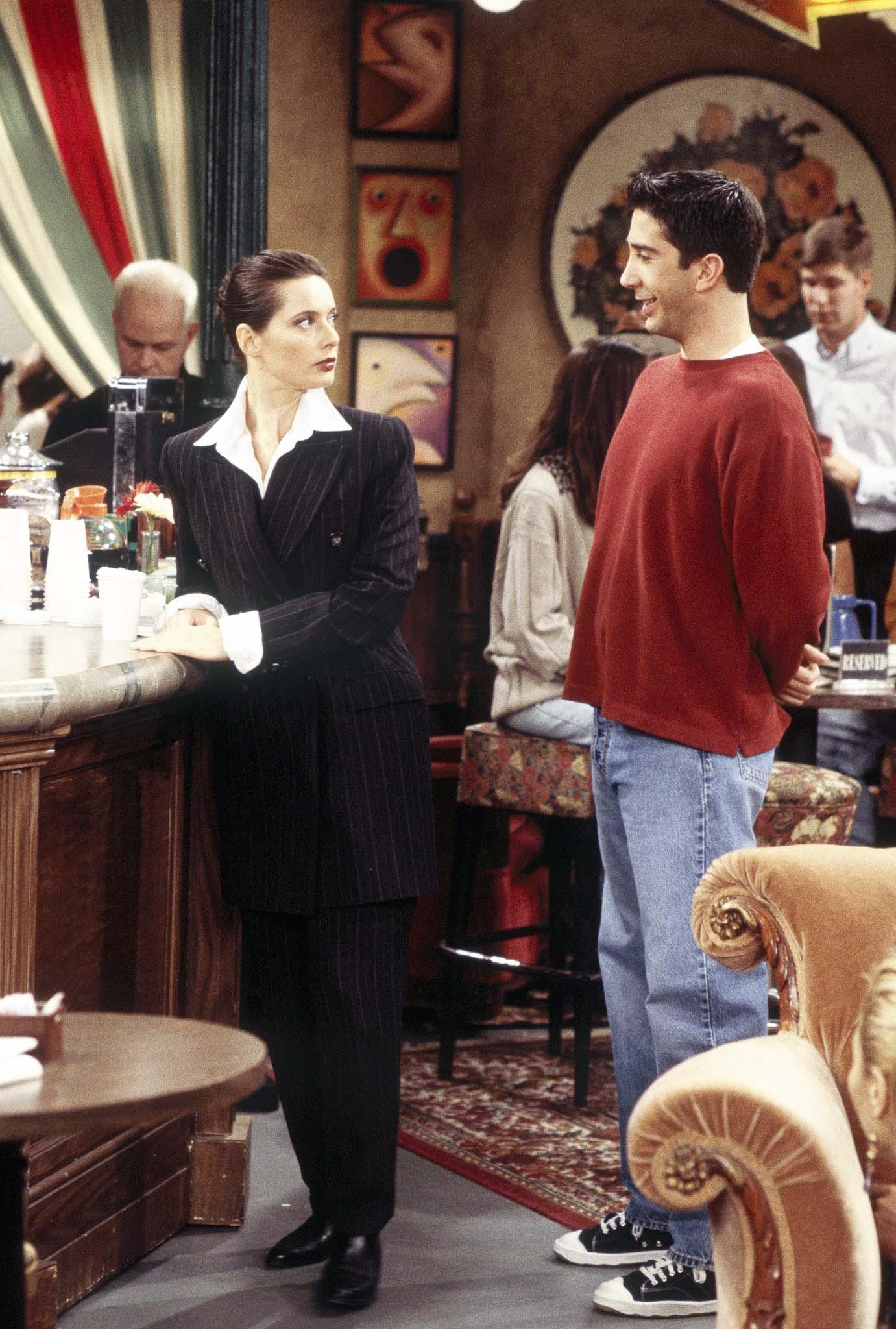 Friends Guest Stars, Isabella Rossellini