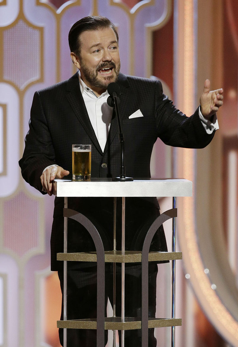 Ricky Gervais, 73rd Annual Golden Globe Awards