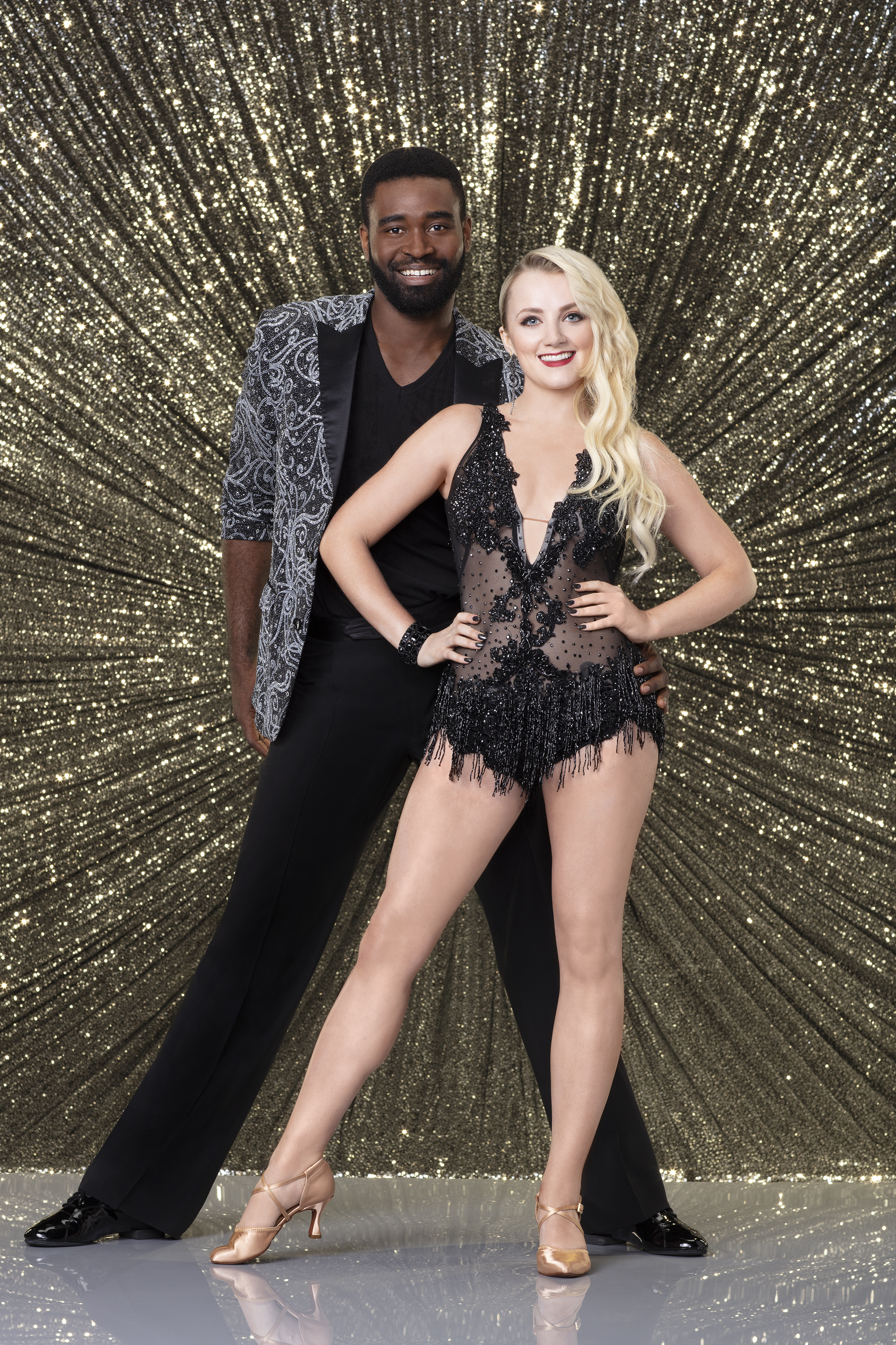 Keo Motsepe and Evanna Lynch, Dancing with the Stars