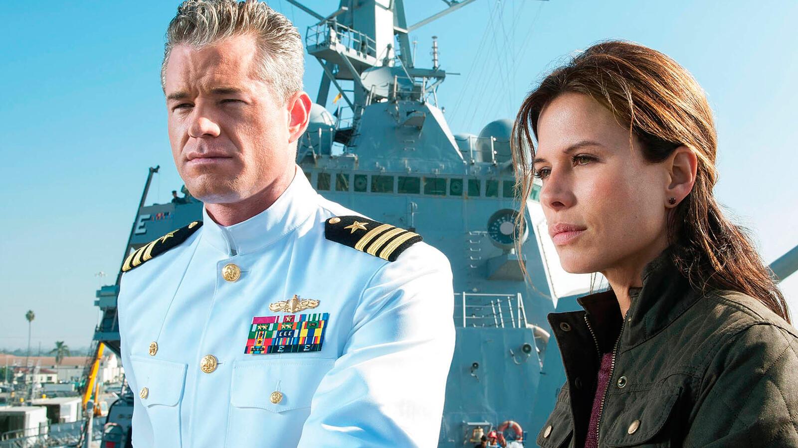 Eric Dane and Rhona Mitra, The Last Ship