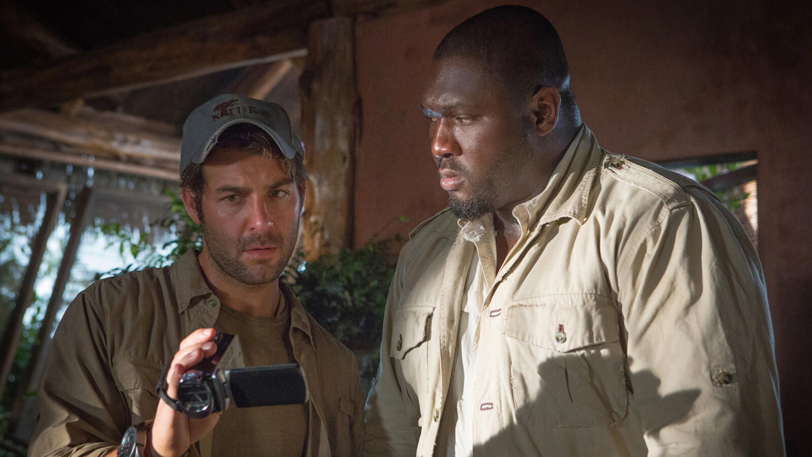 James Wolk and Nonso Anozie, Zoo