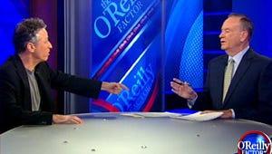 VIDEO: Jon Stewart and Bill O'Reilly Debate Common Controversy