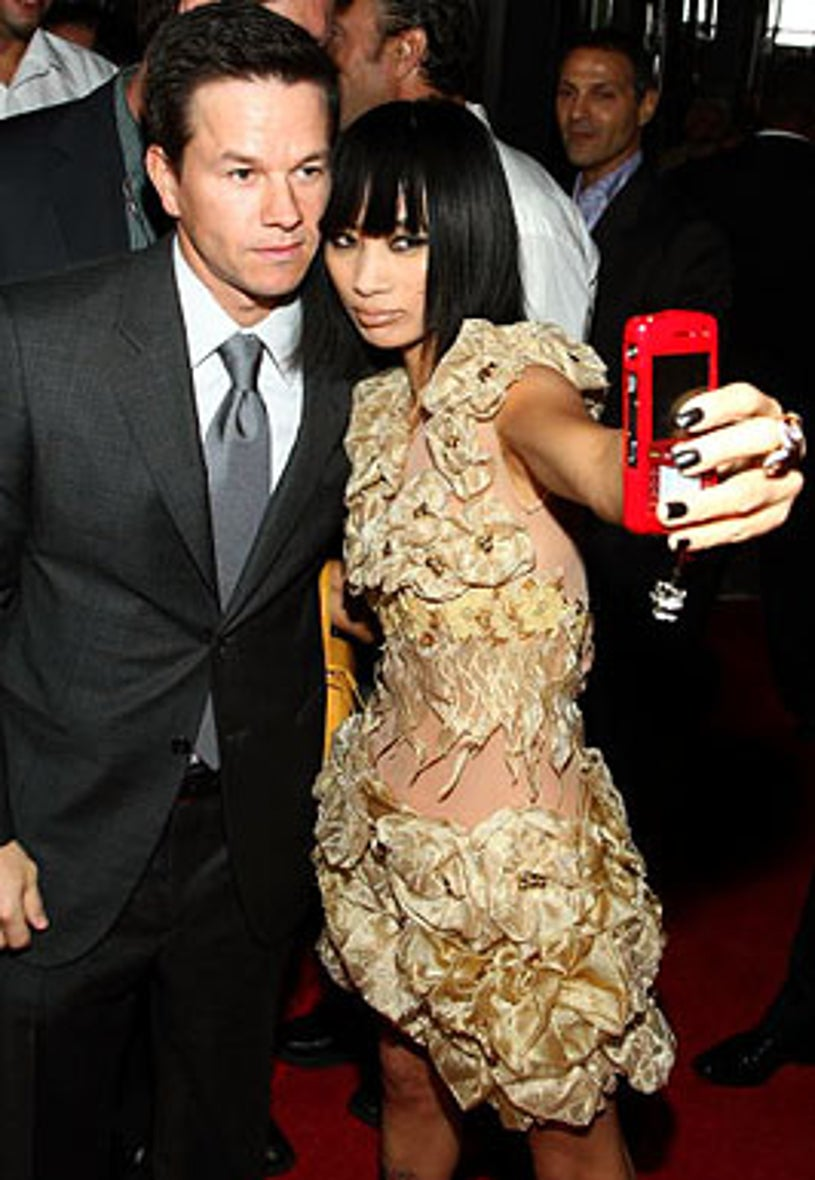 """Mark Wahlberg and Bai Ling  - The Max Payne"""" premiere, October 13, 2008"""