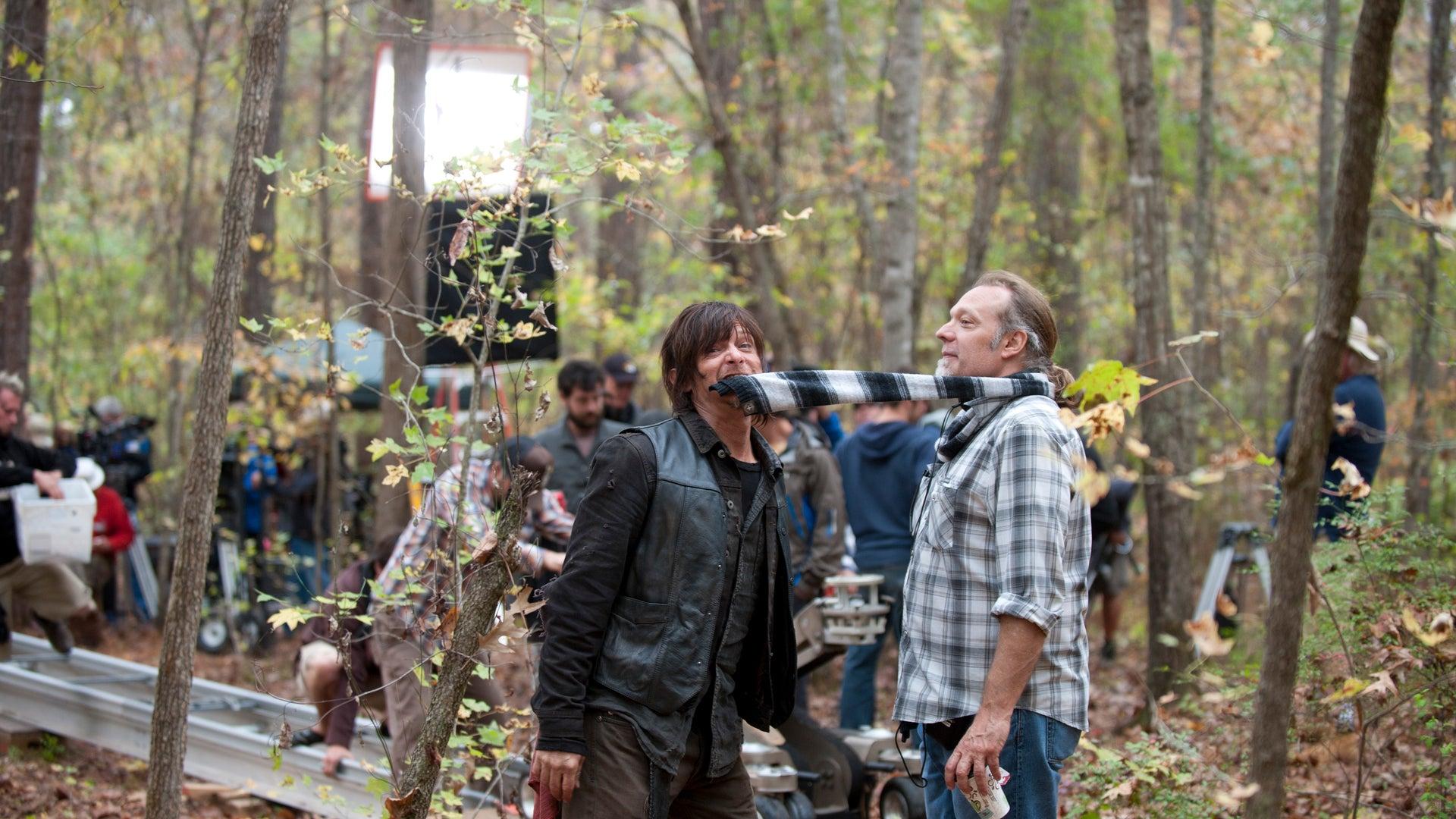 Norman Reedus and Greg Nicotero, The Walking Dead