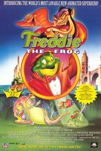 Freddie as F.R.O.7 as Freddie the Frog