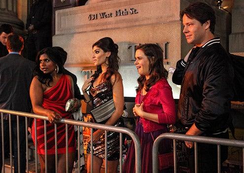 "The Mindy Project - Season 1 - ""In the Club"" - Amanda Setton, Mindy Kaling, Zoe Jarman, Ike Barinholtz"