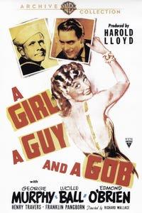 A Girl, a Guy and a Gob as Sailor