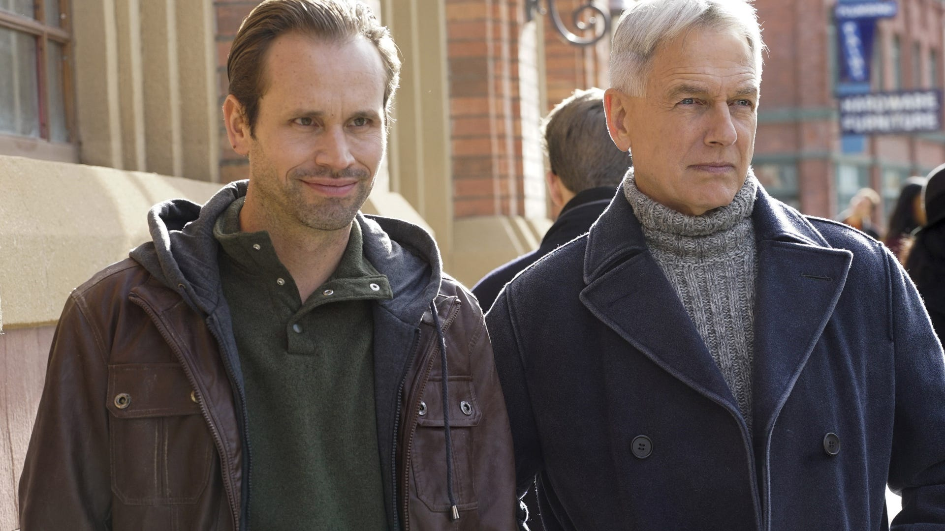Tobias Jelinek, Mark Harmon, NCIS  