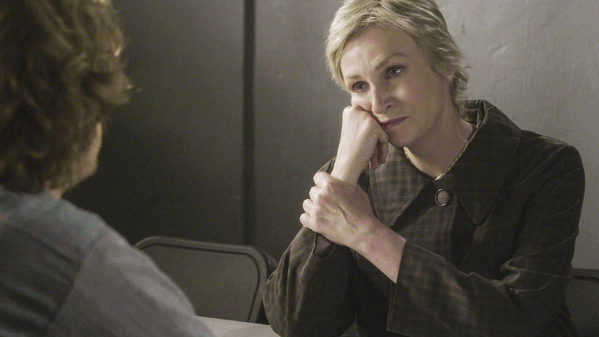 Matthew Gray Gubler and Jane Lynch, Criminal Minds