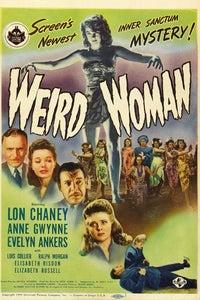 Weird Woman as Prof. Millard Sawtelle