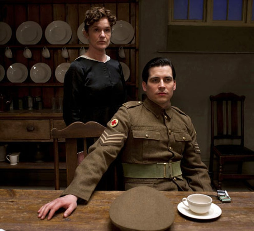 Downton Abbey - Season 2 - Siobhan Finneran as O'Brien and Rob James-Collier as Thomas