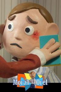 Moral Orel as Orel Puppington/Christina Posabule