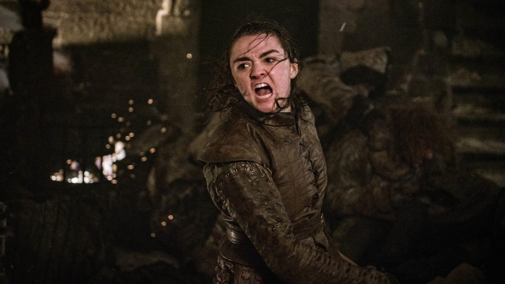Arya Stark (Maisie Williams), Game of Thrones