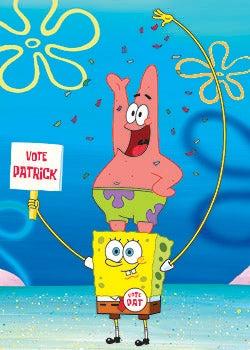 SpongeBob SquarePants - Patrick Starfish and SpongeBob SquarePants