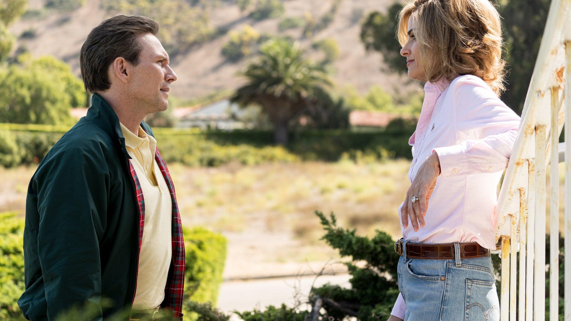 Christian Slater and Amanda Peet, Dirty John: The Betty Broderick Story