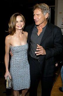 Calista Flockhart and Harrison Ford - 2003 MTV Movie Awards