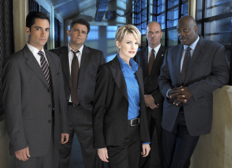 Cold Case - Kathryn Morris, Danny Pino, Thom Barry and Jeremy Ratchford