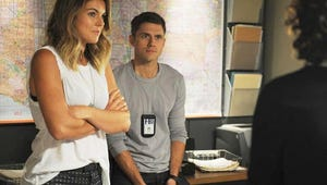 Worlds Collide for Graceland's Serinda Swan in More Ways Than One