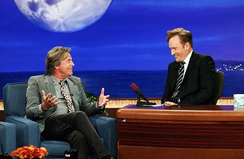 Conan - Don Johnson and Conan O'Brien