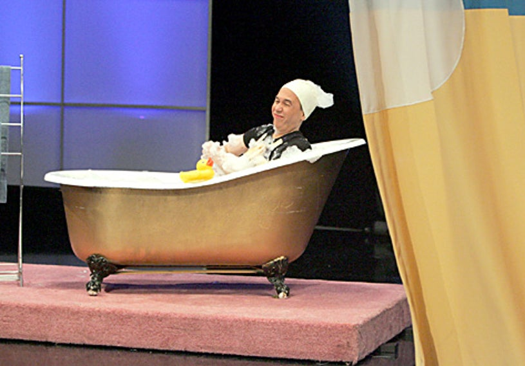 "Gameshow Marathon - Gilbert Gottfried guest stars as the ""zonk"" in ""Let's Make a Deal"""