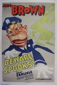 Beware, Spooks!
