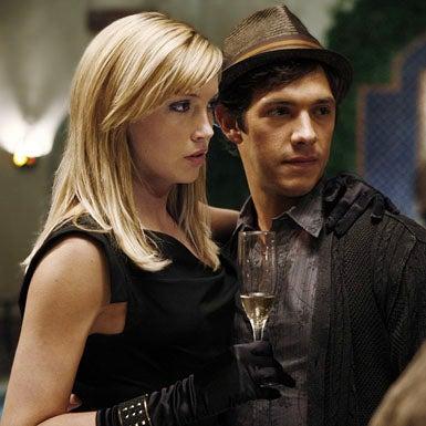 "Melrose Place - Season 1 - ""Pilot"" - Katie Cassidy as Ella and Michael Rady as Jonah"