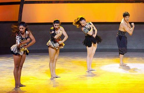 So You Think You Can Dance - Season 8 - Clarice Ordaz, Jordan Casanova, Missy Morelli and Marko Germar perform a Jazz routine