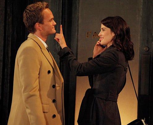 "How I Met Your Mother - Season 8 - ""Splitsville"" - Neil Patrick Harris, Cobie Smulders"