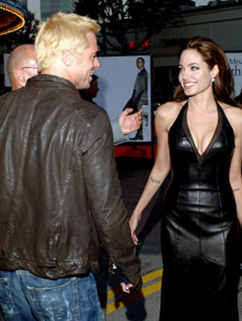 """Brad Pitt and Angelina Jolie - """"Mr. And Mrs. Smith"""" Los Angeles Premiere, June 7, 2005"""