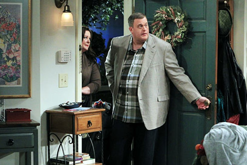 """Mike & Molly - Season 3 - The Honeymoon is Over"""" - Melissa McCarthy and Billy Gardell"""