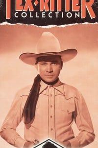 Headin' for the Rio Grande as Sheriff Ed Saunders