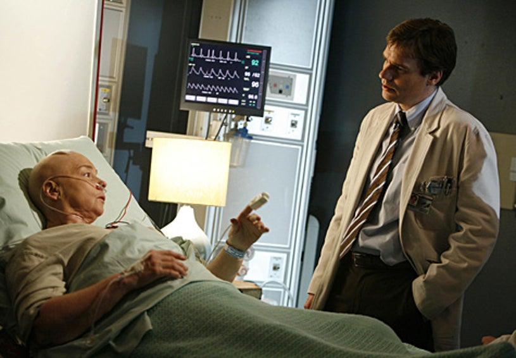 "House - Season 3, ""Airborne"" - Jenny O'Hara as , Robert Sean Leonard"