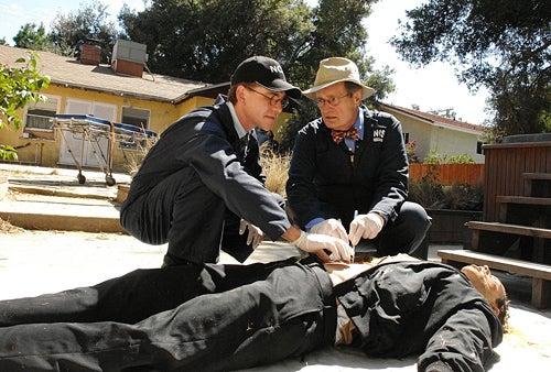 "NCIS - Season 8 - ""Royals & Loyals"" - David McCallum, Brian Dietzen"