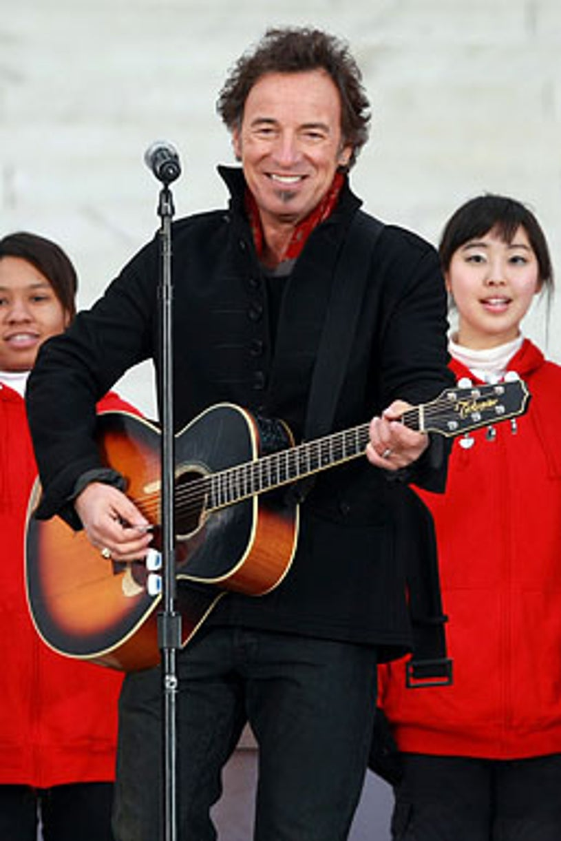 """Bruce Springsteen - The """"We Are One: The Obama Inaugural Celebration At The Lincoln Memorial"""", January 18, 2009"""