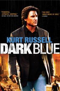 Dark Blue as Eldon Perry