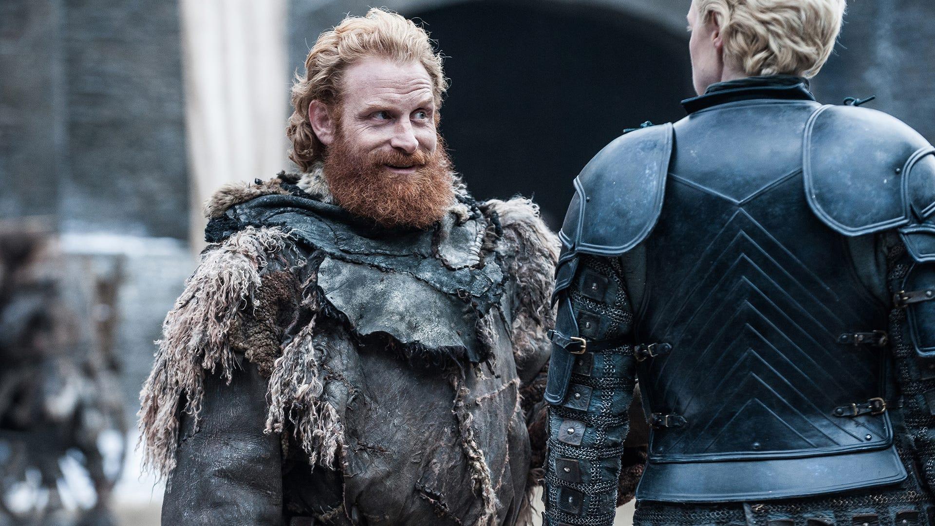 Kristofer Hivju, Gwendoline Christie; Game of Thrones