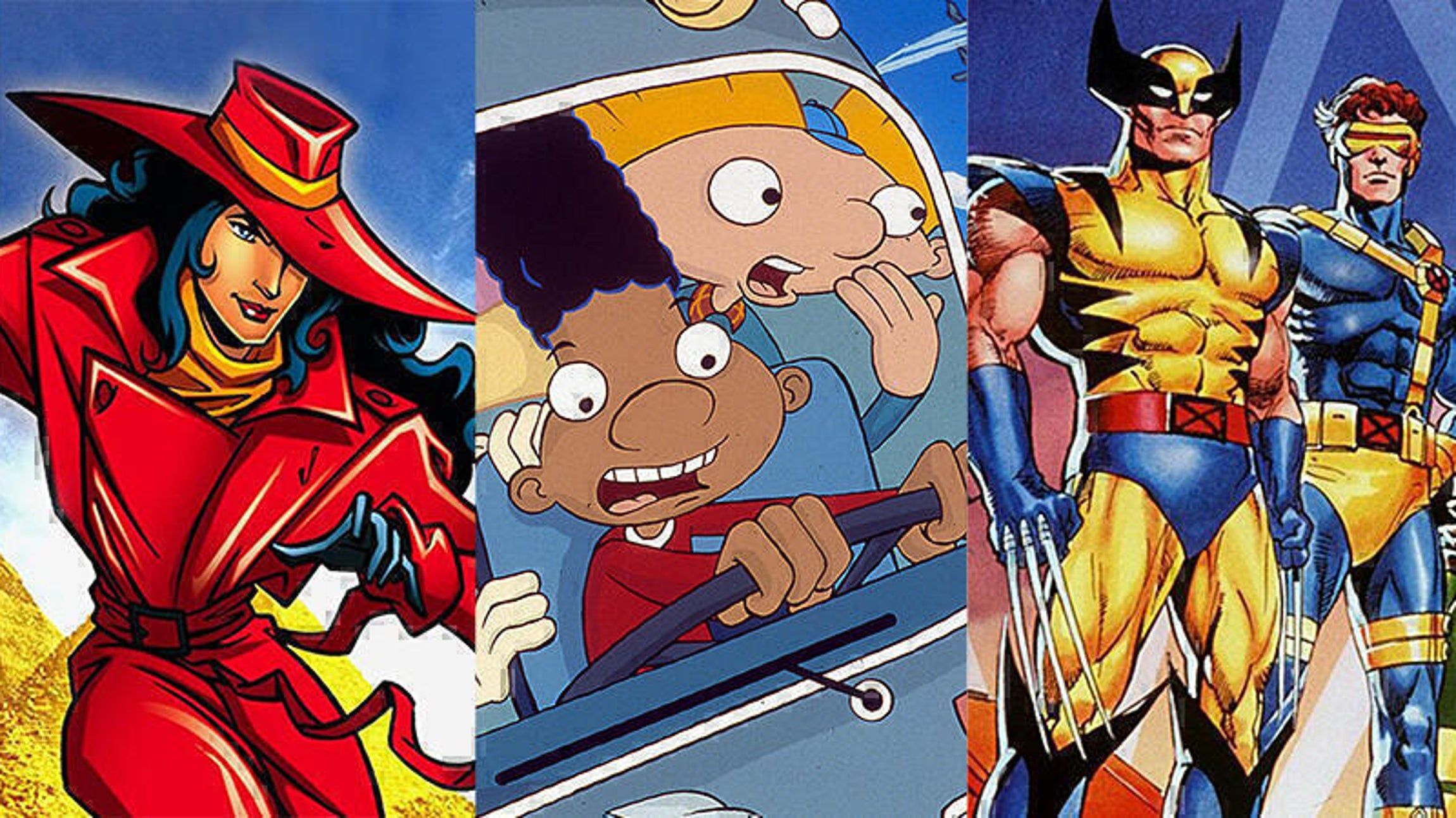 Where on Earth Is Carmen Sandiego?, Hey Arnold!, X-Men: The Animated Series