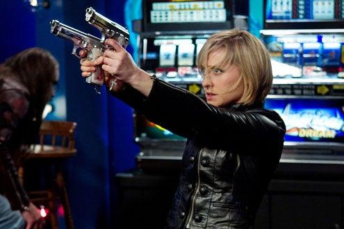 """Smallville - Season 10 - """"Fortune"""" - Allison Mack as Chloe Sullivan"""