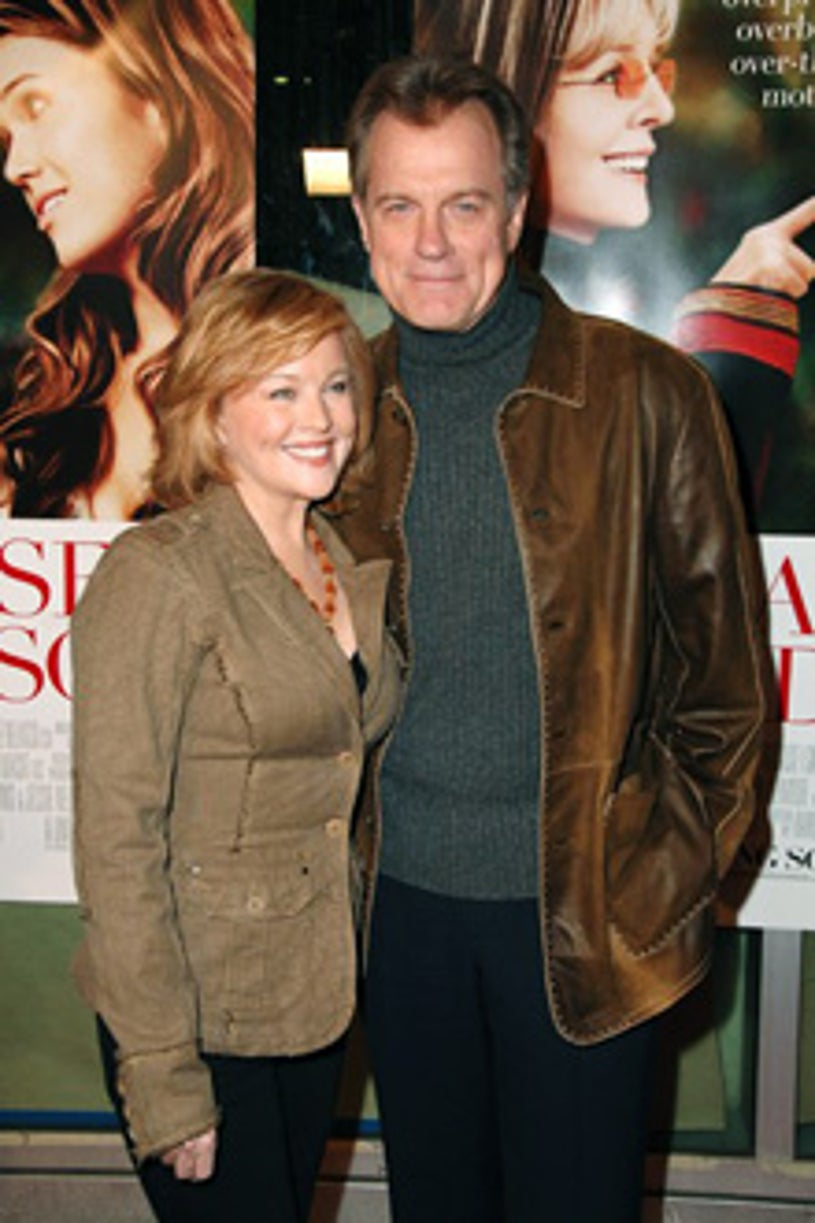 """Faye Grant and Stephen Collins - """"Because I Said So""""  premiere, Jan.  2007"""