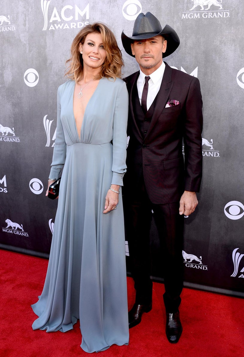 Faith Hill and Tim McGraw - 49th Annual Academy of Country Music Awards in Las Vegas, Nevada, April 6, 2014