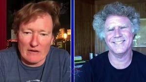 Will Ferrell Helps Conan Kick Off His First Post-Quarantine Show at Largo