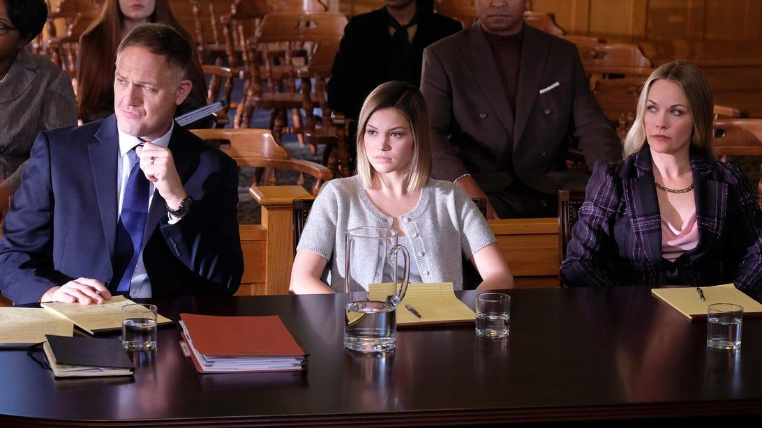 Jason Douglas, Olivia Holt, and Andrea Anders, Cruel Summer