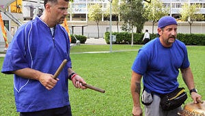 """Amazing Race's Michael and Louie: """"Mr. Know-It-All"""" Joe Needs to Get Over the U-Turn"""