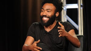 """Donald Glover Wins a """"Magical"""" Golden Globe for Best Comedy Actor"""