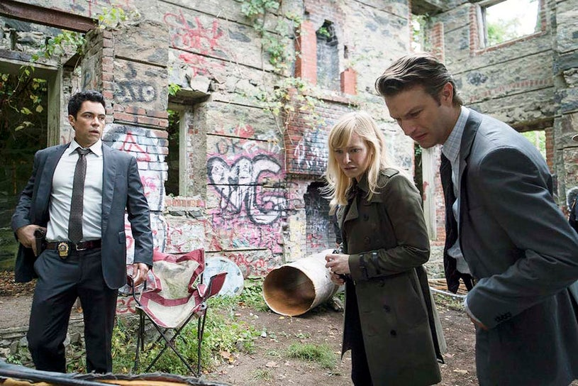 """Law & Order: Special Victims Unit - Season 16 - """"Glasgowman's Wrath"""" - Danny Pino, Kelly Giddish and Peter Scanavino"""