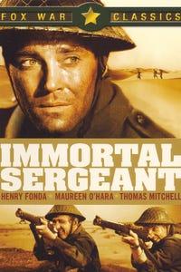 Immortal Sergeant as German Officer