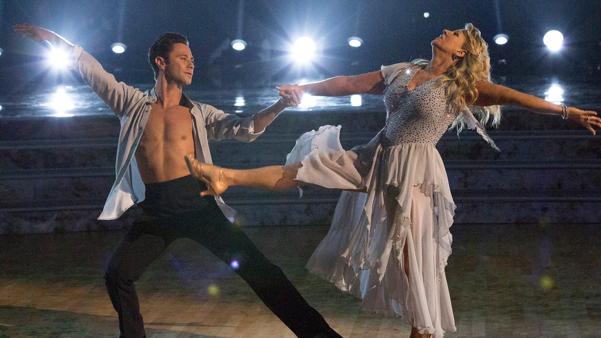 Tonya Harding and Sasah Farber, Dancing with the Stars