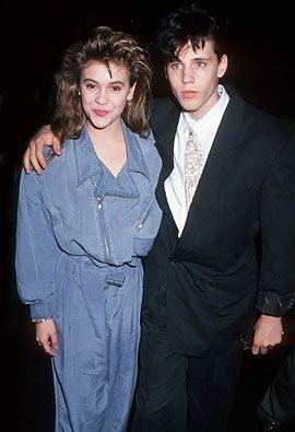 "Alyssa Milano and Corey Haim - ""Dream a Little Dream"" premiere, Hollywood, March 1, 1989"