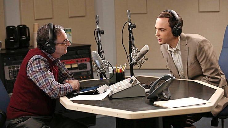 Ira Flatow and Jim Parsons, The Big Bang Theory